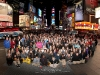 Group Photo in Times Square, NY